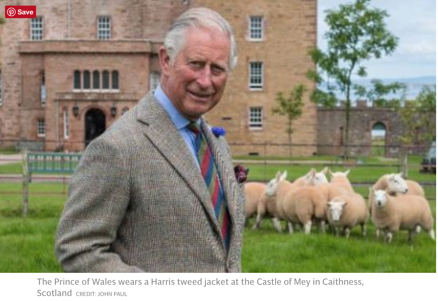 HRH The Prince of Wales: Why we should buy wool this winter