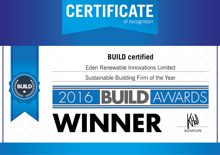 Sustainable Building Firm of the Year