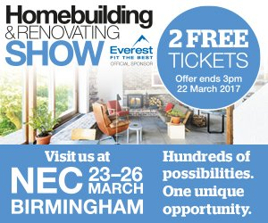 Visit the <br>Home Building & Renovating Show <br>Stand F103