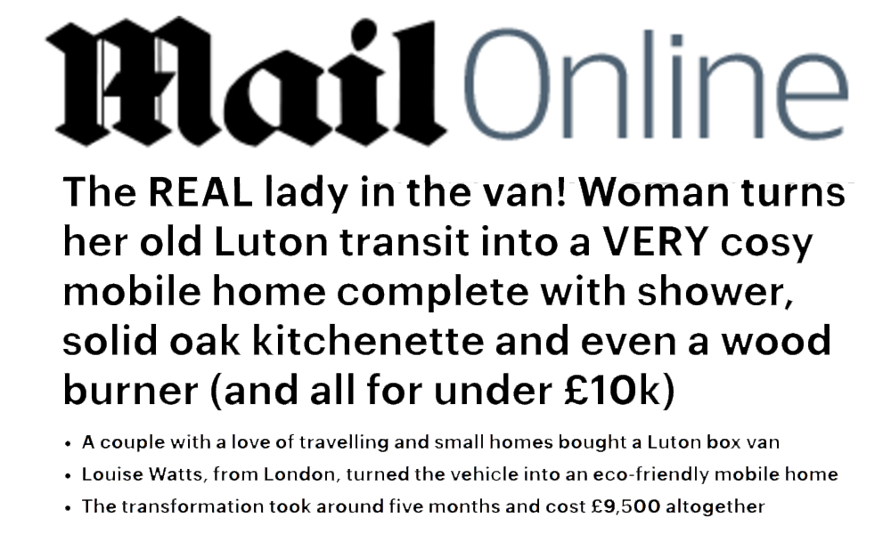 The Real Lady <br> in the Van