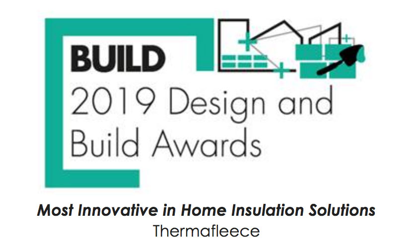 Thermafleece wins Build Magazine 2019 Award