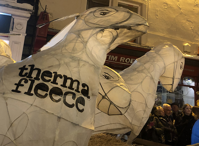 Thermafleece supporting The Winter Droving Festival
